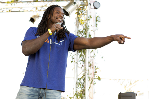 Los Angeles Chargers running back and Rally Health Ambassador Melvin Gordon and Rally Health hosted ...