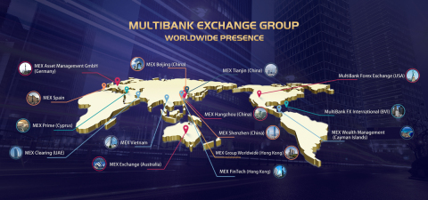 MultiBank Exchange Group Worldwide Presence (Graphic: Business Wire)