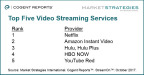 Top Five Streaming Video Services (Graphic: Business Wire)
