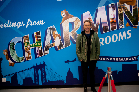Charmin and Dax Shepard are on a mission to provide a better bathroom experience this holiday season, so people can Enjoy the Go, on the go in Times Square from December 6 – 24, 2017. (Photo: Business Wire)