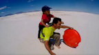 Public Storage knows that not every great holiday happens in winter, and this family out of El Paso, Texas, knows it, too! They go on monthly adventures and love to celebrate National Parks Week. They filmed one of their adventures, sledding in the desert, and shared it for the Holiday Stories video contest! Winners will be selected by end of day December 12, based on the number of views on YouTube. (Photo: Business Wire)