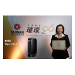 Clientron Thin Client R800 Won 2018 Taiwan Excellence Award