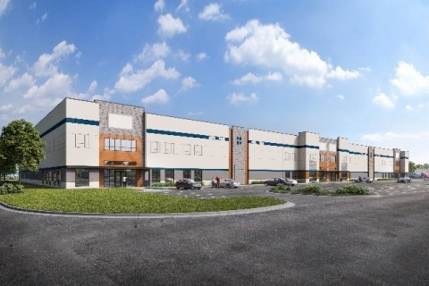 Rendering of CLT Logistics Center - Building 1 (Photo: Business Wire).