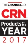 CRN has named VeloCloud's Cloud-Delivered SD-WAN a winner of a 2017 Product of the Year Award in the Software-Defined Networking awards category. Recognized products represent best-of-breed technological innovation as judged by CRN editors and the solution provider community at large. (Graphic: Business Wire)