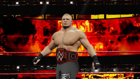 The most realistic WWE video game experience just became more intense with the addition of eight-man matches, a new grapple carry system, new weight detection, thousands of new animations and a massive backstage area. (Graphic: Business Wire)
