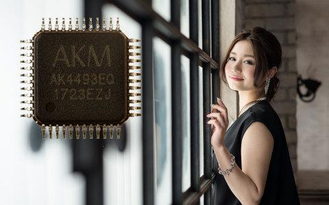 """""""VELVET SOUND(TM)"""" Premium 32bit DAC AK4493EQ (Photo: Business Wire)"""