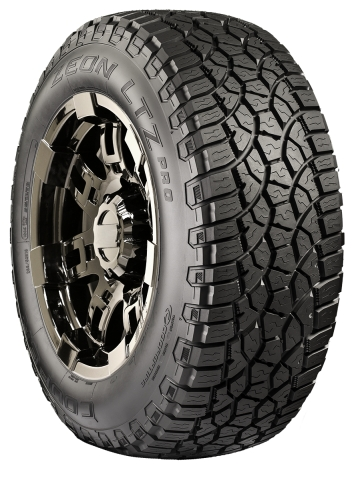 Cooper Zeon LTZ Pro offers a stylish sport tire look with an optimized tread pattern for a balanced ride. (Photo: Business Wire)