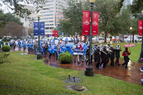 CPR Saves Lives March in New Orleans calls attention to the importance of CPR training (Photo: Business Wire)