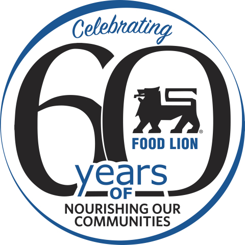 Food Lion Marks 60th Anniversary with In-Store Celebrations and Time Capsule Ceremony at Corporate Headquarters on Dec. 12 (Graphic: Business Wire)