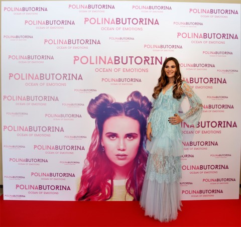 Polina Butorina at the launch of debut album