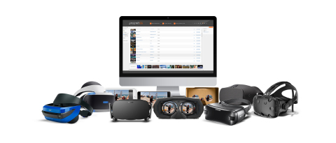 The Jaunt XR Platform provides a highly scalable solution for the distribution of all immersive content, including virtual reality video, interactive VR, branched storytelling narratives, augmented reality and mixed reality. (Graphic: Business Wire)