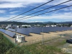 525kW solar power generating system at the Hokkaido Kitami Plant (Photo: Business Wire)