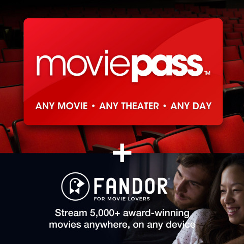 MoviePass and Fandor Partner with Costco on Movie Lovers Package (Photo: Business Wire)