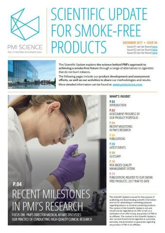 Philip Morris International Releases Latest Scientific Update for Smoke-Free Products on Clinical Pr ...