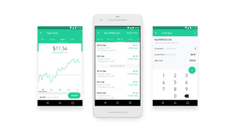 Robinhood is launching a free options trading product for