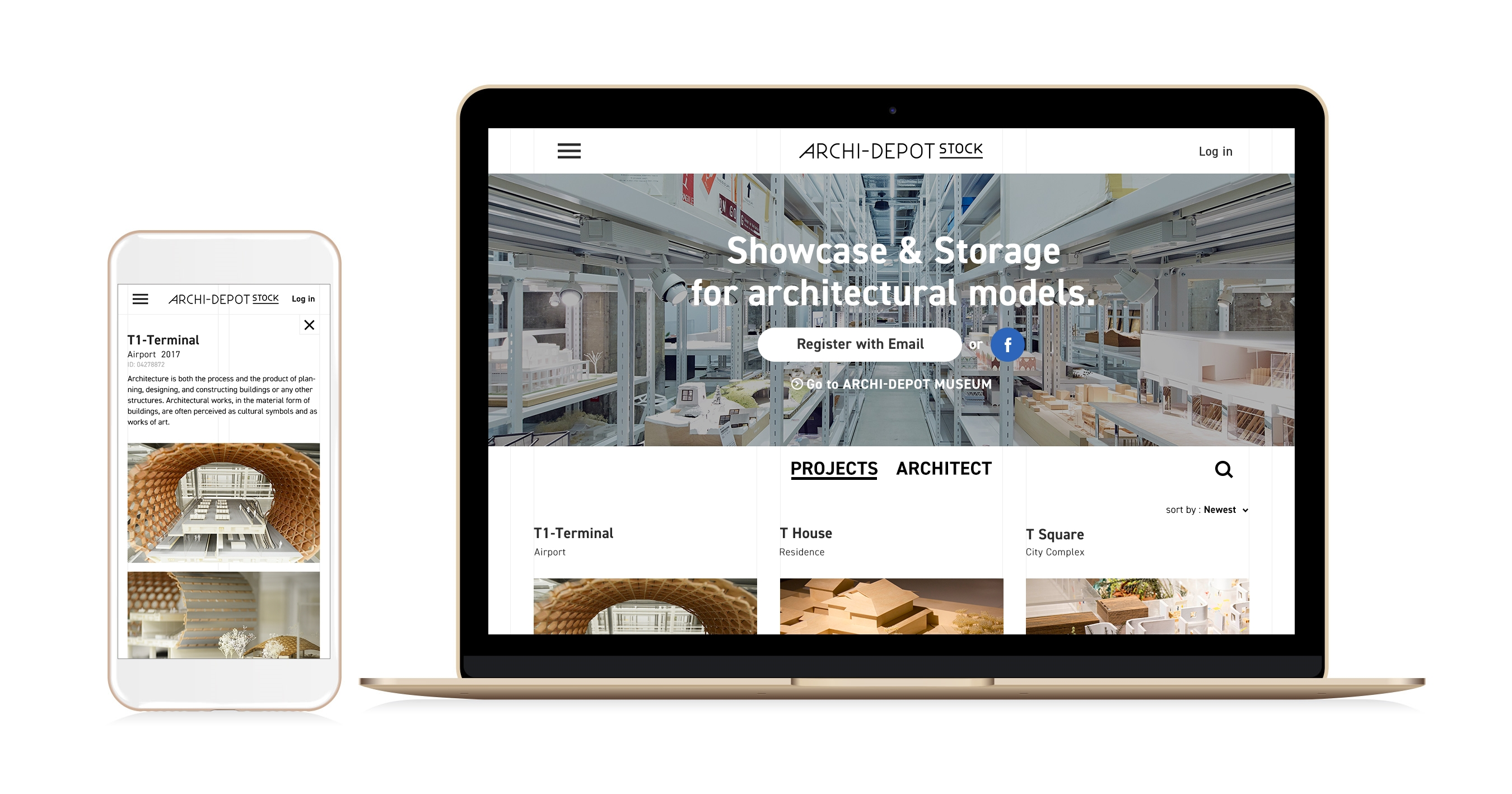 Warehouse TERRADA Launches ARCHI−DEPOT STOCK, the World\'s First ...