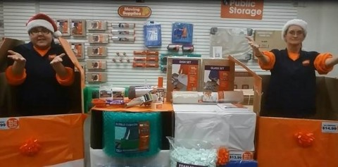Public Storage employees in Annapolis, Maryland, showed off Public Storage features to help families ...