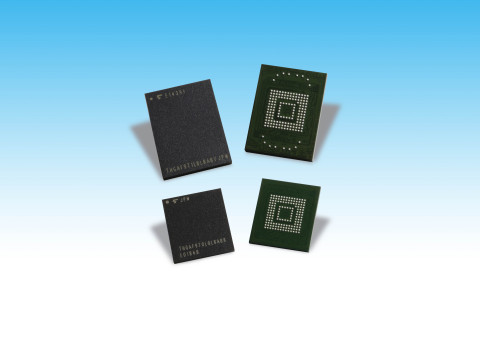 Toshiba Memory Corporation: Automotive UFS products (Photo: Business Wire)