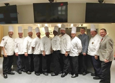 A number of Aramark chefs recently graduated from the distinguished ProChef® Certification program at The Culinary Institute of America. (Photo: Business Wire)
