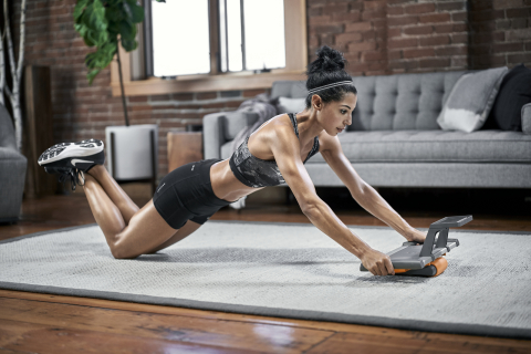 Modern Movement® Edge-Board™ Core Strength Trainer features functionality extending much further than a traditional ab roller and can be incorporated into a wide variety of exercises. (Photo: Business Wire)