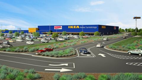 IKEA U.S. secures contractors for San Antonio-area store opening summer 2019 in Live Oak, TX. (Photo ...