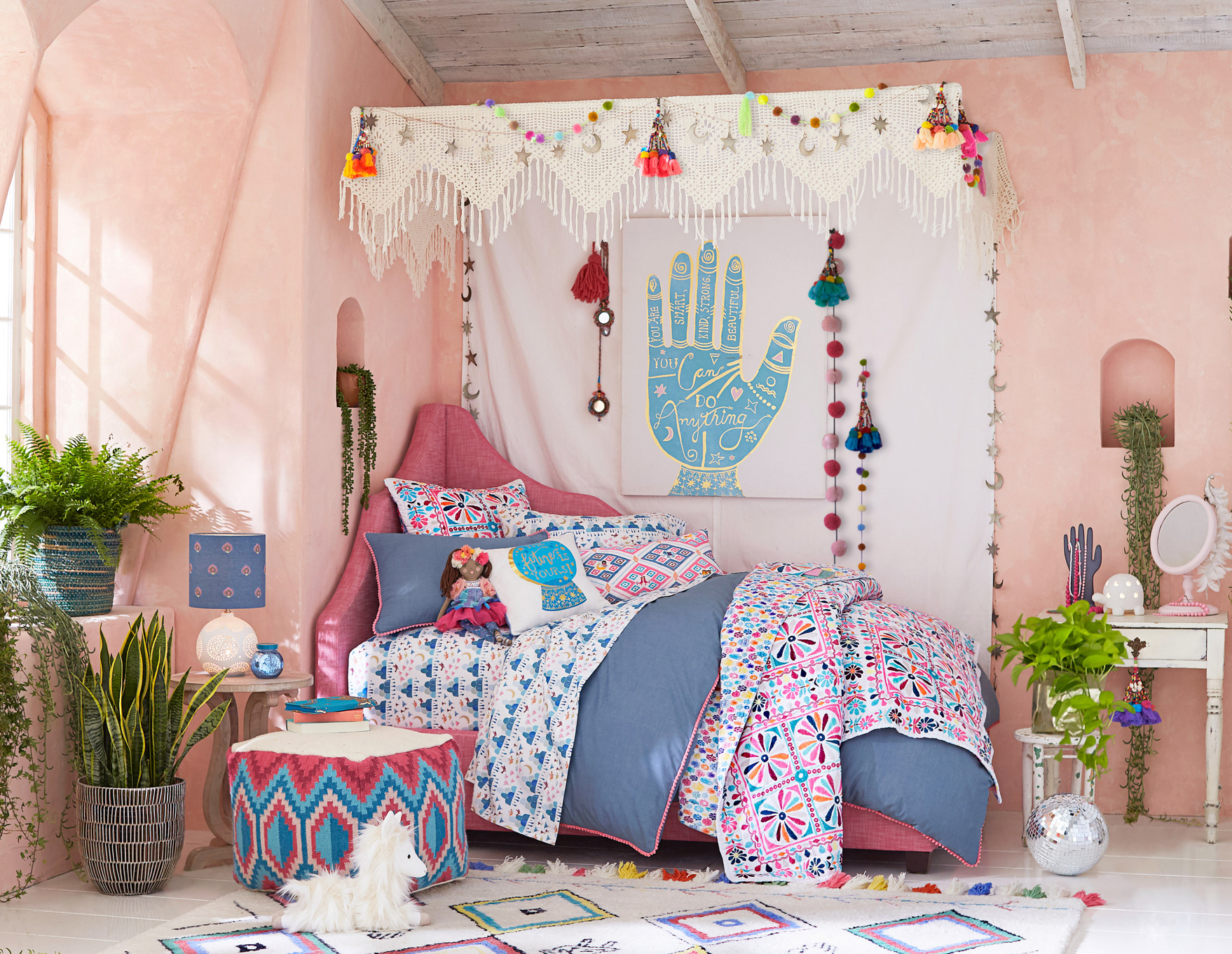 POTTERY BARN KIDS UNVEILS BRIGHT BOHEMIAN COLLECTION WITH DESIGNER AND ARTIST JUSTINA BLAKENEY