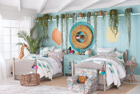 Jungalino Room in the Justina Blakeney for Pottery Barn Kids collection.  (Photo: Business Wire)