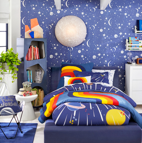 Astronomad room in the Justina Blakeney for Pottery Barn Kids collection.  (Photo: Business Wire)
