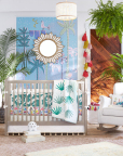 Jungalino Nursery in the Justina Blakeney for Pottery Barn Kids Collection.  (Photo: Business Wire)