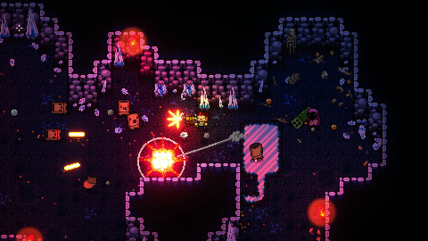 The Enter the Gungeon game is a dungeon crawler that follows a band of misfits seeking to shoot, loot, dodge roll and table flip their way to personal absolution by reaching the legendary Gungeon's ultimate treasure: the gun that can kill the past. (Photo: Business Wire)