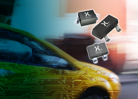 Nexperia Introduces New Generation of High Performance In-Vehicle Network Protection Diodes (Photo: Business Wire)