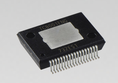"""Toshiba Electronic Devices & Storage Corporation: A new surface-mount 4-channel power IC """"TCB001FNG"""" for car audio. (Photo: Business Wire)"""