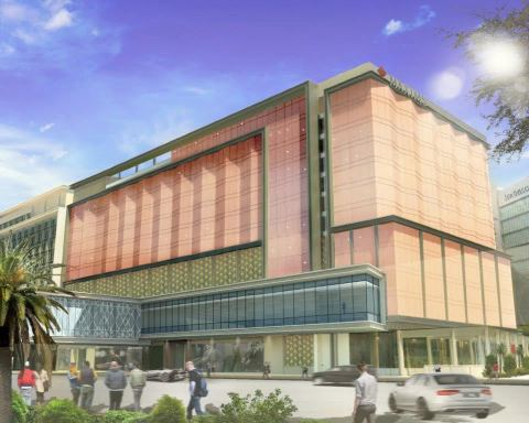 Rendition of Hotel Okura Manila (Graphic: Business Wire)