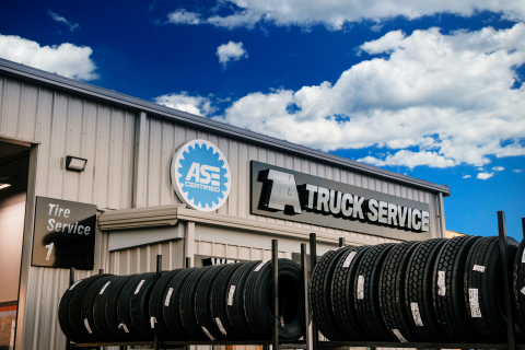 TA Truck Service Commercial Tire Network Provides Easy Access to Tire Expertise (Photo: Business Wir ...