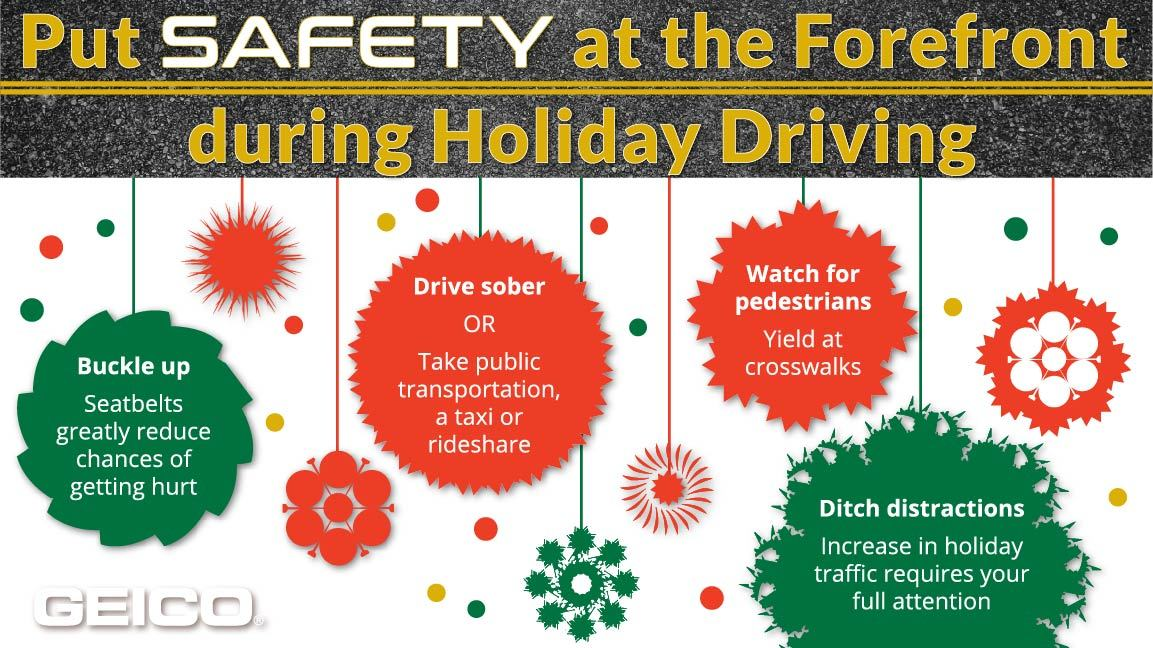 Image result for how to drive safe during the holidays