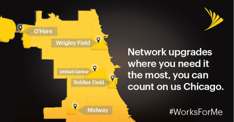Network upgrades where you need it the most, you can count on us Chicago. (Graphic: Business Wire)