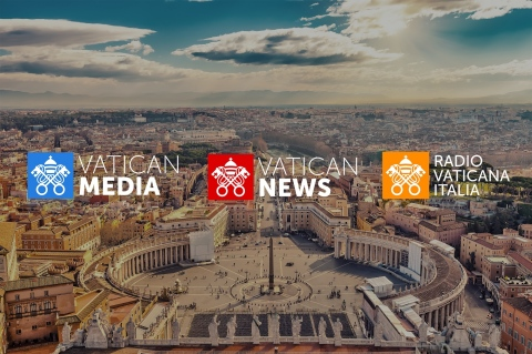 The new logos of the Vatican communications  (Photo: Business Wire)