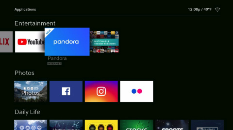 Comcast and Pandora partner to reinvent the Pandora music experience on Xfinity X1. (Photo: Business Wire)