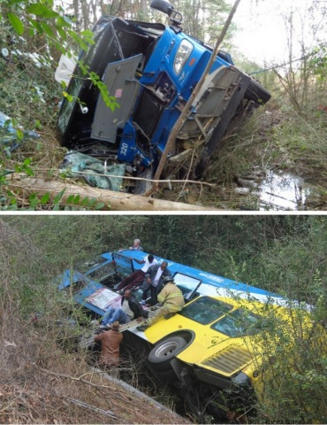 MAX Transit Bus Crash images (Photo: Business Wire)