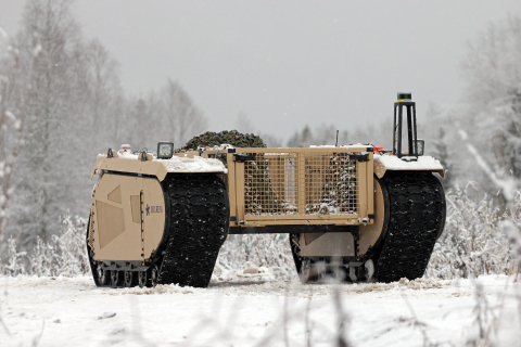 Milrem Robotics took the first step towards providing combat units with autonomous warfare systems last week when it successfully reached and demonstrated a significant milestone in its autonomy program - waypoint navigation. (Photo: Business Wire)