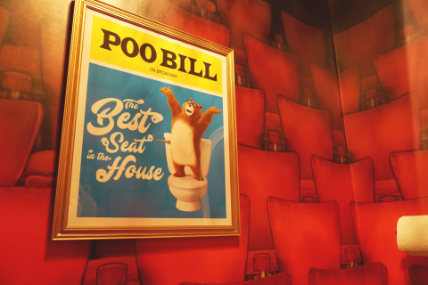 """Charmin Restrooms """"Broadway Stall"""" (Photo: Business Wire)"""