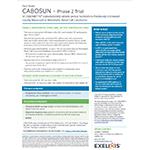 CABOSUN Trial Design Fact Sheet