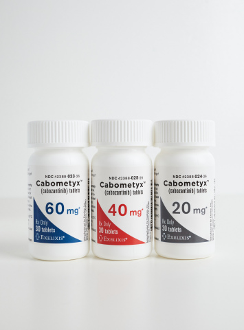 CABOMETYX® Tablets 60 mg, 40 mg, 20 mg (Photo: Business Wire)
