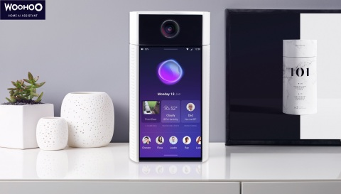 """WooHoo features a 360-degree rotating camera, and a full 7"""" screen that allows for more than just th ..."""