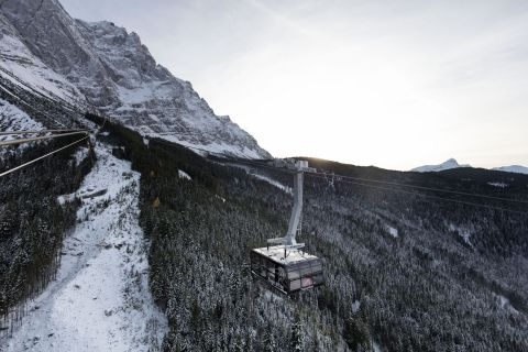 Zugspitze (Copyright: Bayerische Zugspitzbahn Bergbahn AG/fendstudios.com)