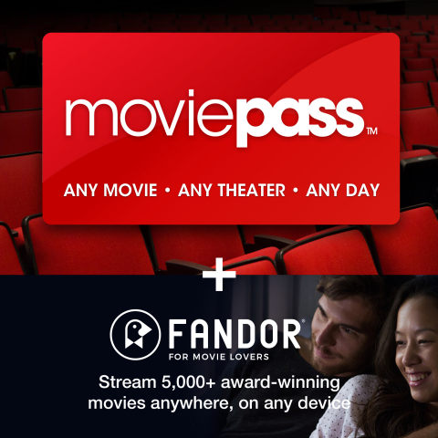 Costco extends its offering with MoviePass and Fandor into the New Year (Photo: Business Wire)