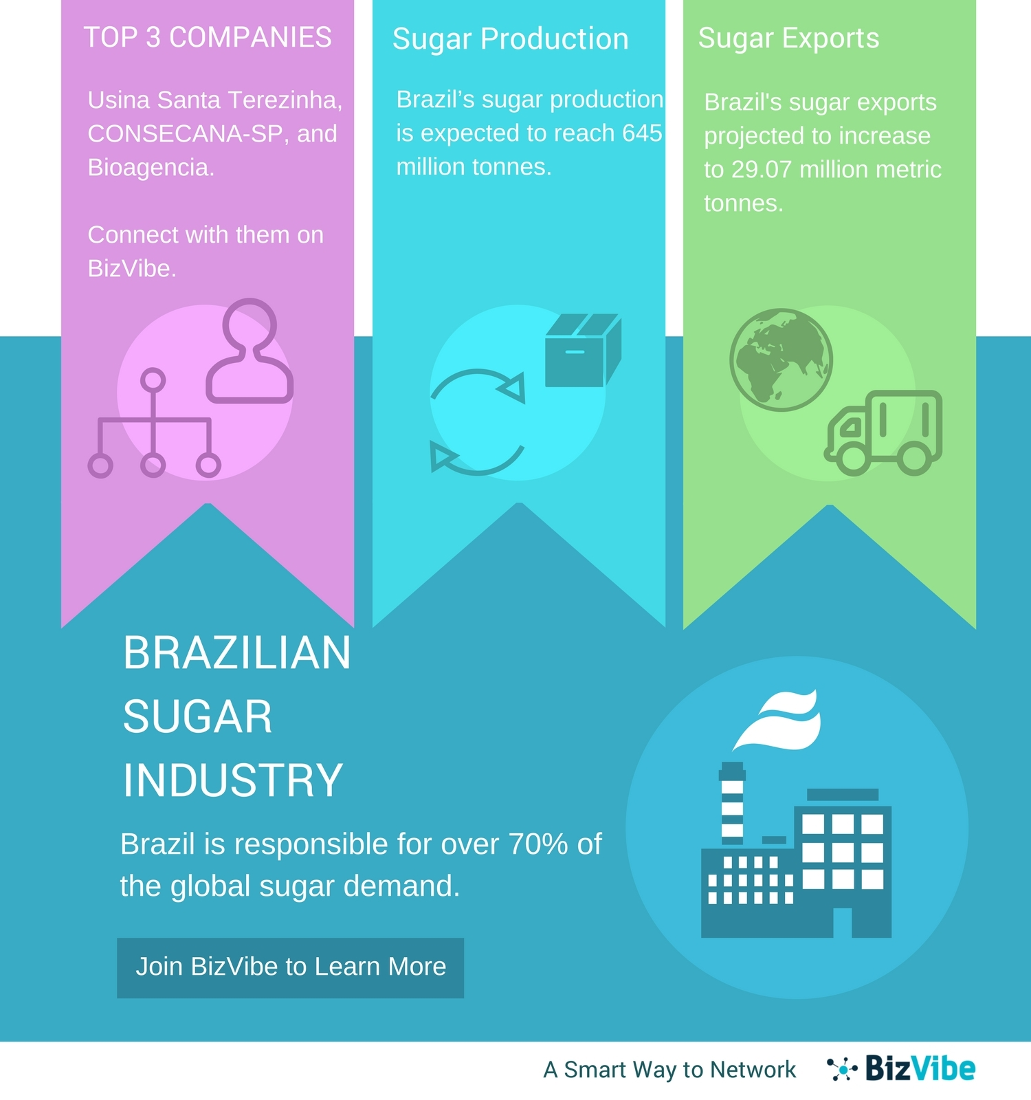 Brazilian Sugar Industry – BizVibe's New B2B Networking Platform for
