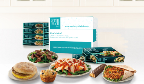 Now in its second year as a home-delivered, structured weight-loss plan, South Beach Diet offers a high-protein, low-carb, low-sugar approach that's very on trend. (Photo: Business Wire)