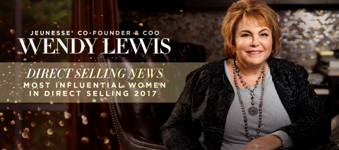 Jeunesse Founder and COO, Wendy Lewis was named one of the Direct Selling News Most Influential Women in Direct Selling in 2017. (Photo: Business Wire)