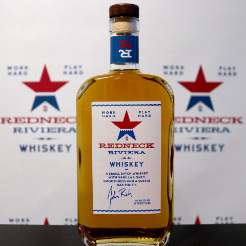Redneck Riviera Whiskey, a collaborative effort between Eastside and country-music superstar John Rich from Big & Rich, is available in Oregon, ahead of its formal launch. (Photo: Business Wire)